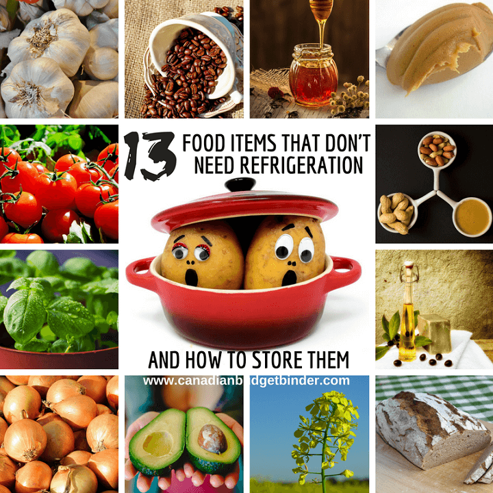 13 Food Items That Do Not Require Refrigeration : The Grocery Game Challenge 2018 #1 Mar 5-11