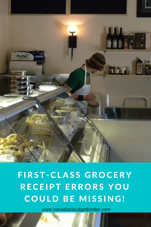First-Class Grocery Receipt Pricing Errors You Might Be Missing : The Grocery Game Challenge 2018 #2 Mar 12-18