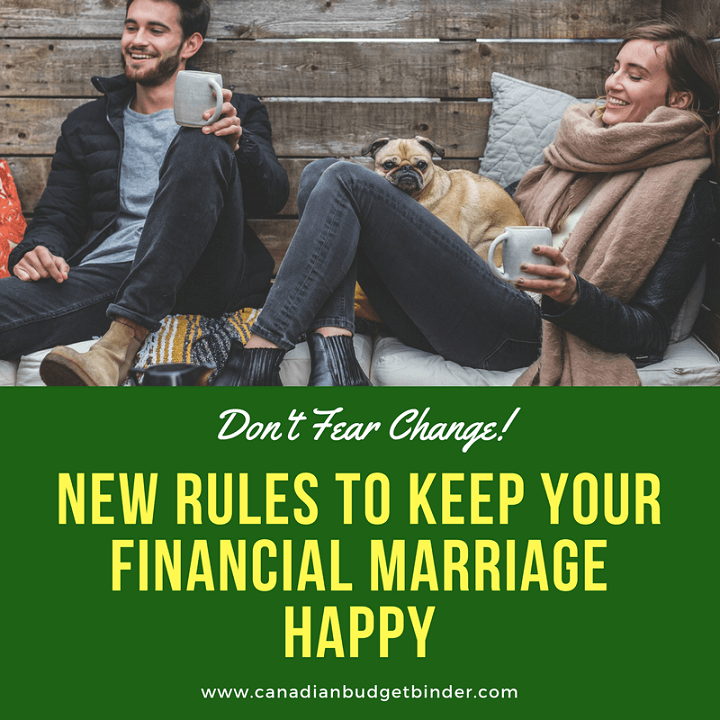 New Rules To Keep Your Financial Marriage Happy