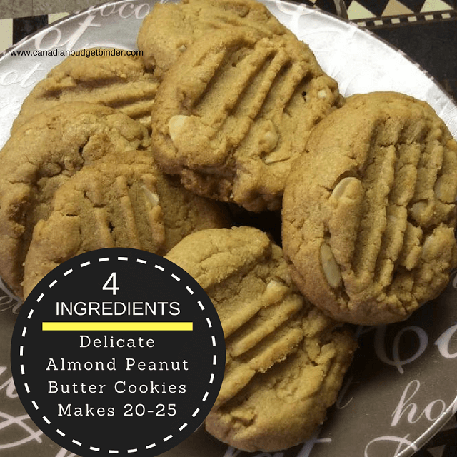 delicate almond peanut butter cookies gluten free main