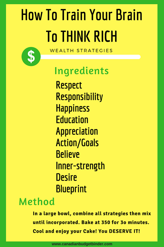 how to think rich in 10 steps