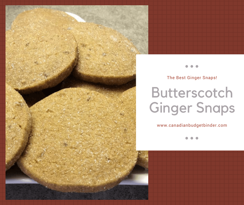the best Butterscotch Ginger Snaps Facebook