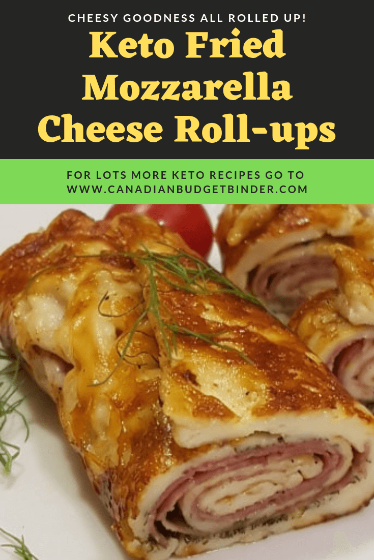low carb mozzarella cheese rolls