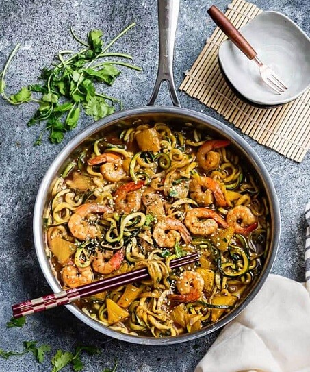 One-Pot-Shrimp-Teriyaki-Zoodle-Zucchini-Noodles-4-e1489658283978