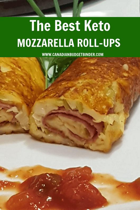 Keto Italian Mozzarella Rolls