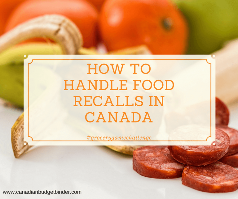 How To Handle Food Recalls In Canada : The Grocery Game Challenge 2018 #3 Apr 16-22