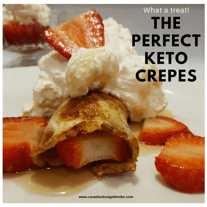 perfect keto crepes
