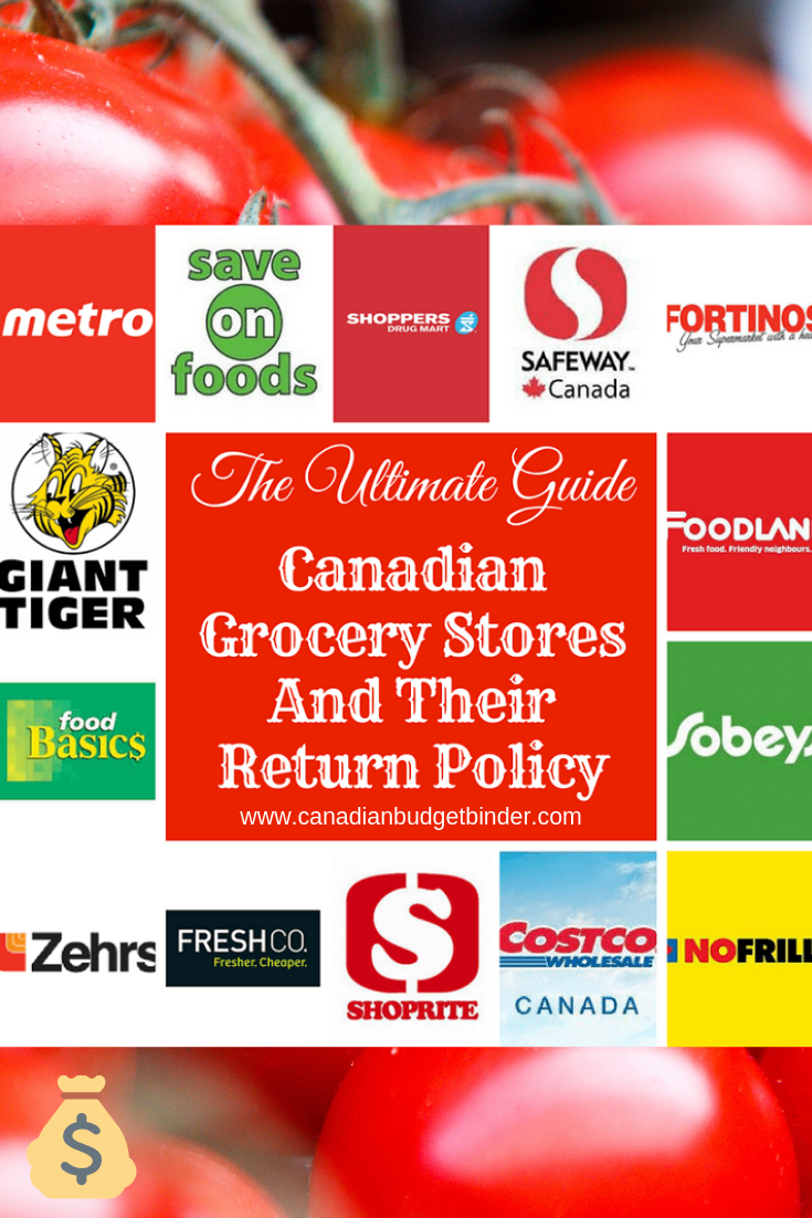 The Ultimate Guide To Canadian Grocery Stores Return Policy Canadian Budget Binder