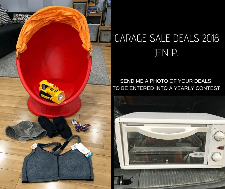 Garage Sale Deals Jen 2018 May 1