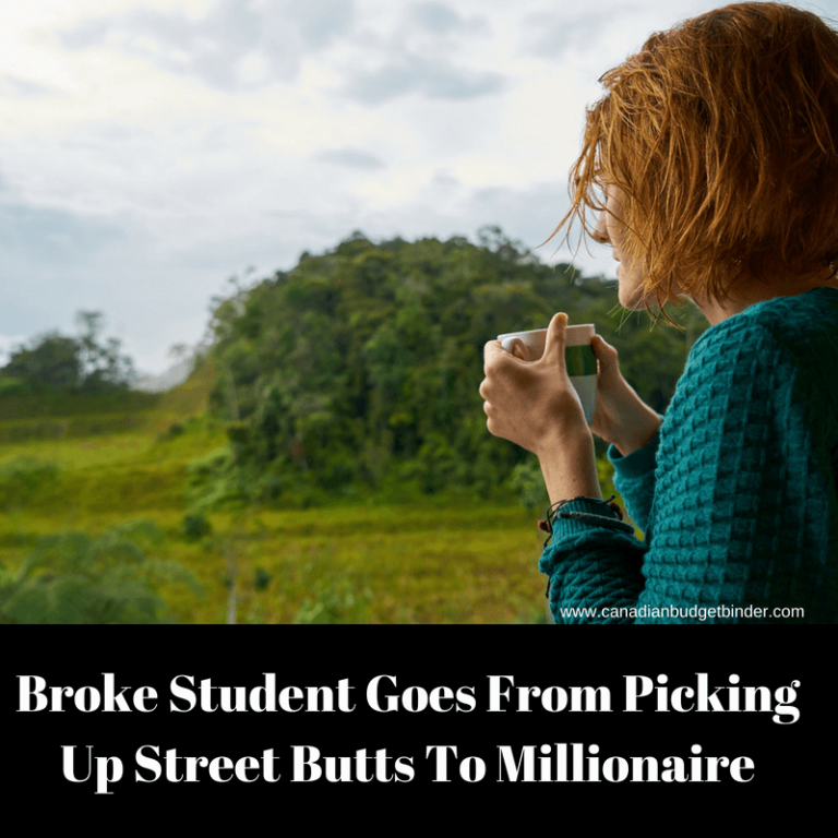 Broke Student Goes From Picking Up Street Butts To Millionaire