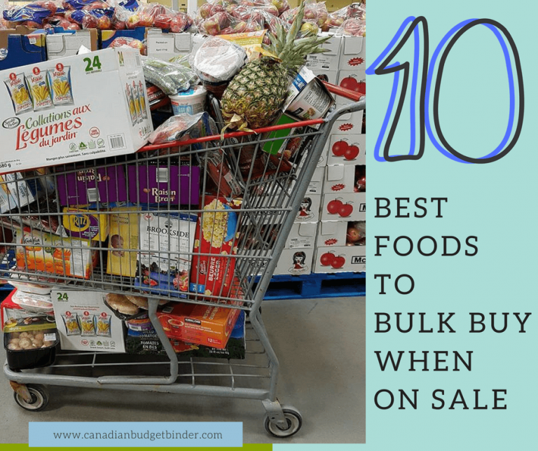 10 Best Foods To Bulk Buy When On Sale : The GGC 2018 #1 June 4-10