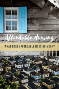 Affordable Housing Canada