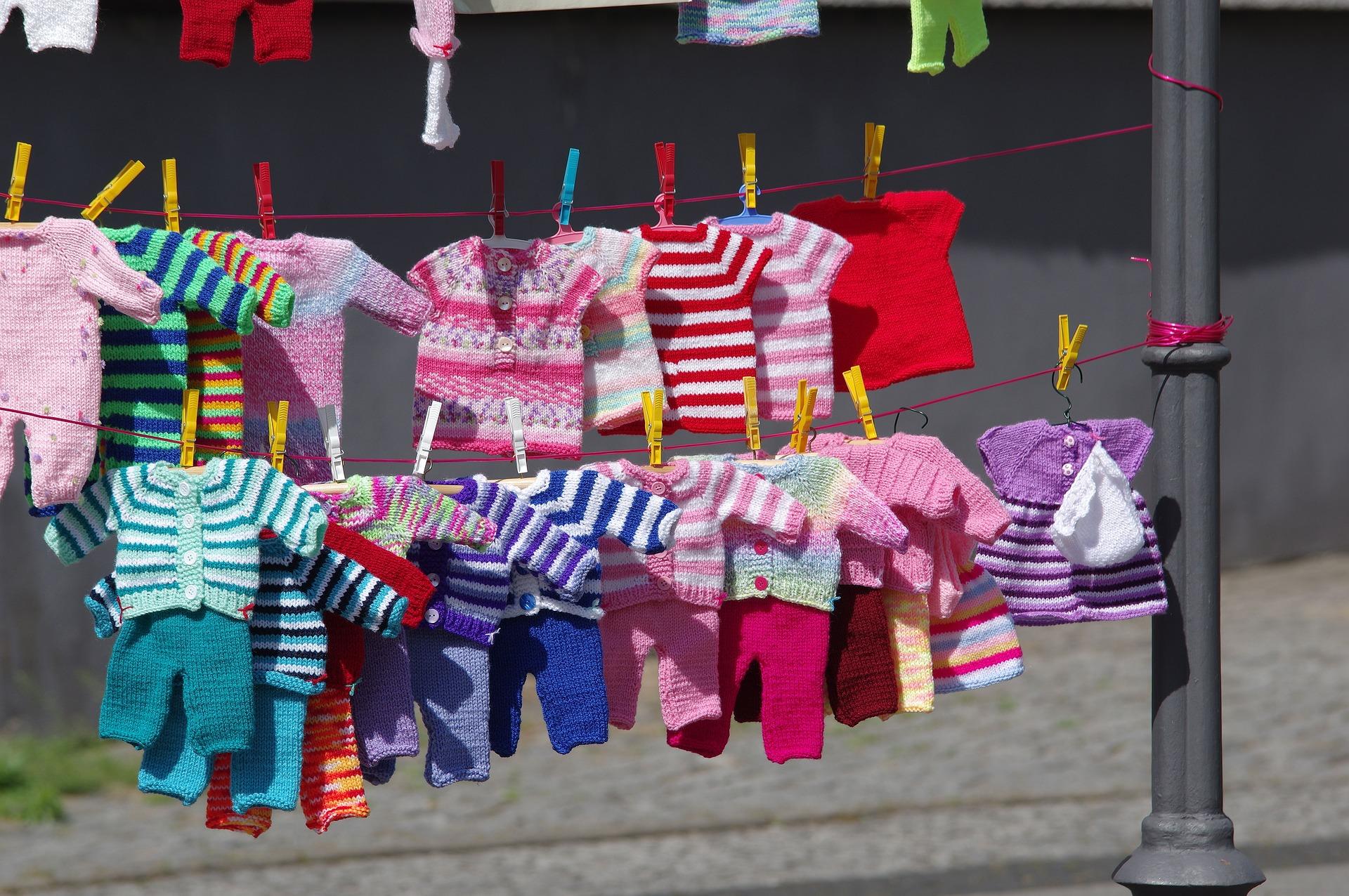children's clothing for garage sale