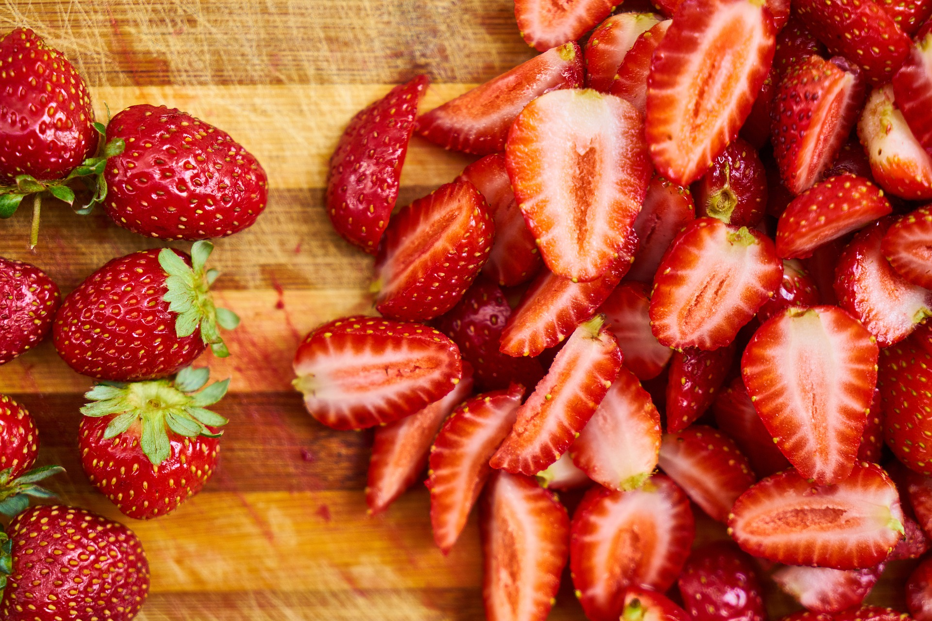 how to process strawberries