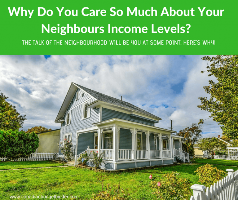 Why Do You Care So Much About Your Neighbours Income Levels?
