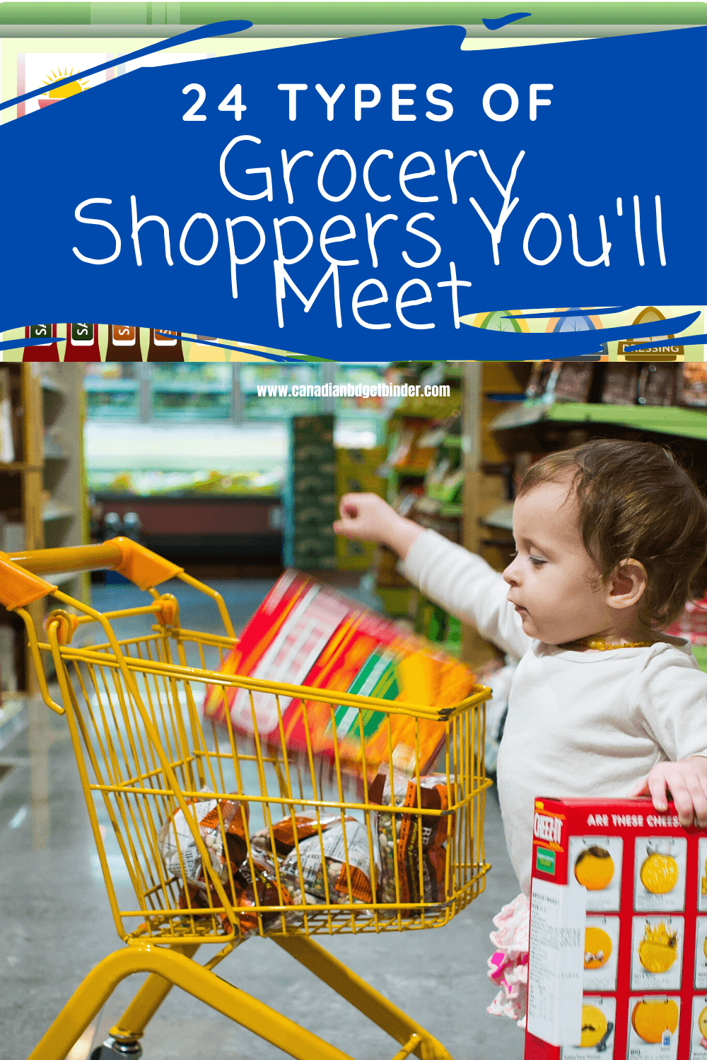 Toddler Grocery Shopping