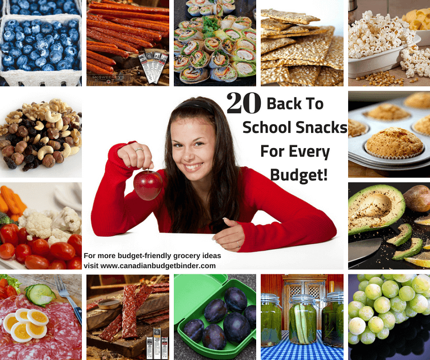 Back To School SnacksFor Every Budget! 2