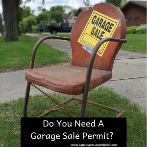 Do You Need A Garage Sale Permit