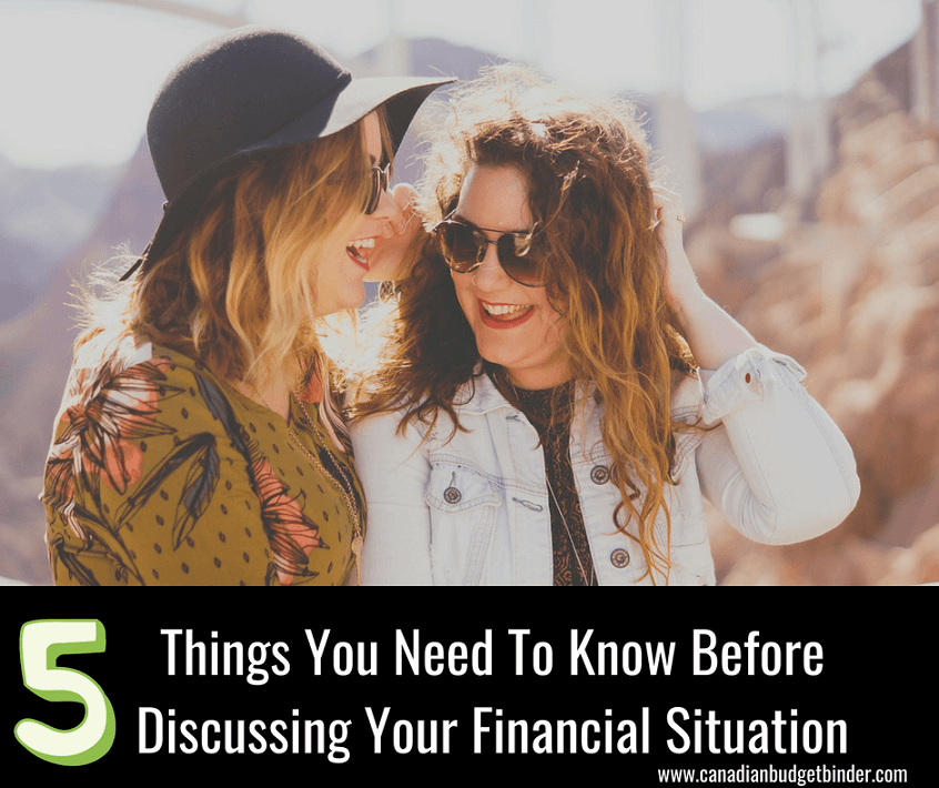 Things You Need To Know Before Discussing Your Financial Situation
