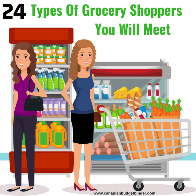 Types Of Grocery Shoppers You Will Meet