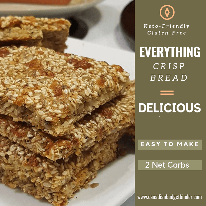 Everything Crisp Bread (Keto, Low-Carb) FB main