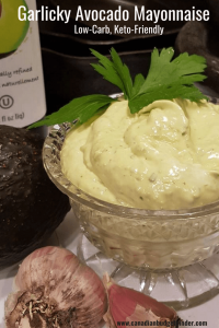 Garlicky Avocado Mayonnaise