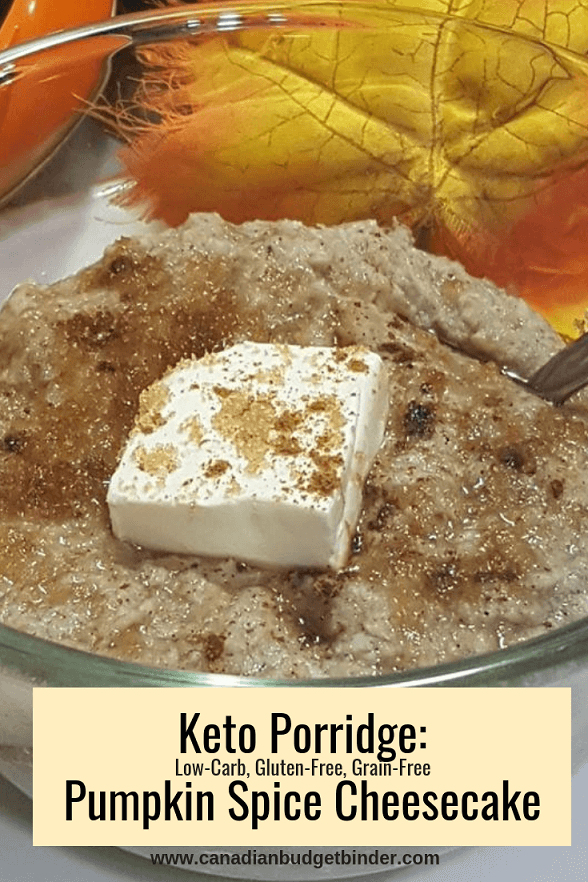 Keto Porridge Pumpkin Spice Cheesecake-3-1