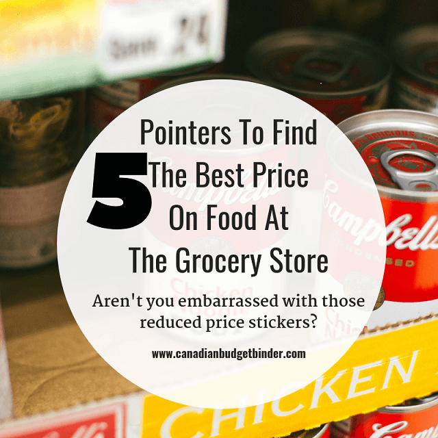 5 Pointers To Find The Best Price On Food At The Grocery Store : The GGC 2018 # 4 Sept 24-30