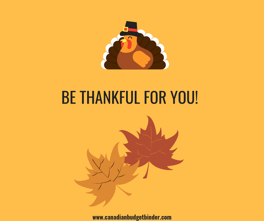 BE THANKFUL FOR YOU!