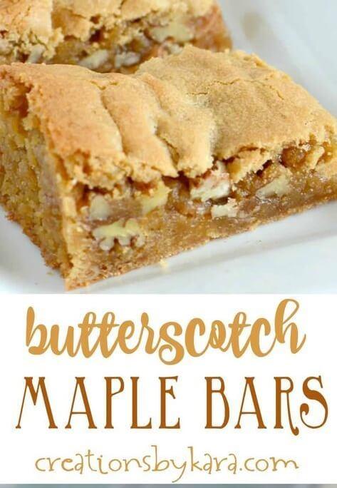 butterscotch Maple bars 2