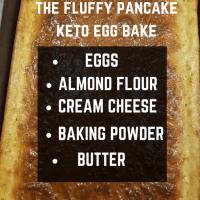 the fluffy pancake keto egg bake- PHOTO INGREDIENTS