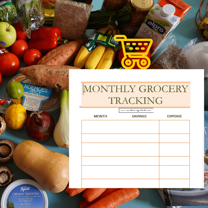 The Best Way To Track Your Monthly Grocery Expenses (Free Printable) : The GGC 2018 #3 Nov 19-25