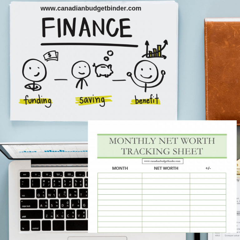 Add This Net Worth Tracking Sheet To Your Budget Binder (Free Printable): Net Worth Update Oct 2018 (-1.36%)