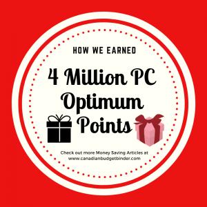 4 Million PC Optimum Points