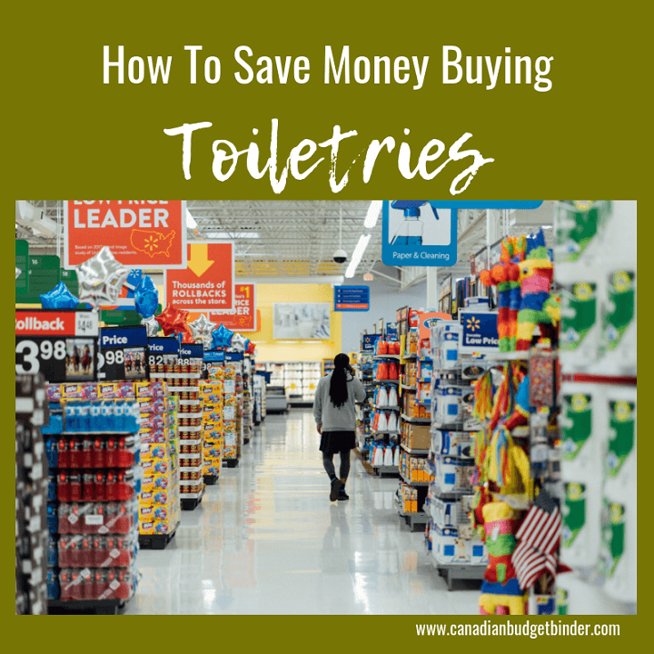 Should You Include Toiletries In Your Grocery Budget? : The GGC 2018 #1 Dec 3-9