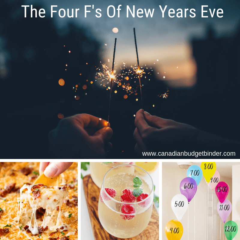 the four f's of New Years Eve