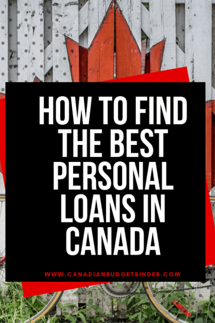 Canadian personal loan