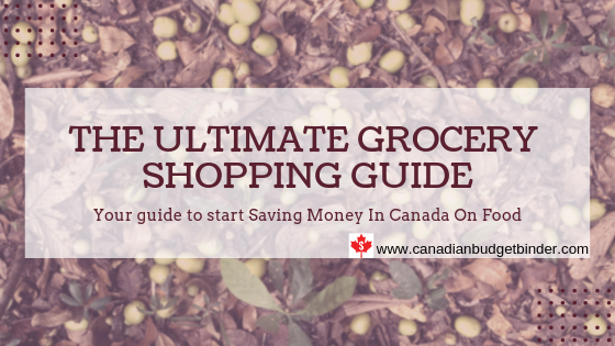 The ultimate grocery shopping guide