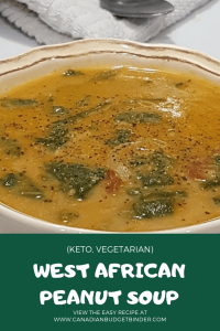 WEST AFRICAN PEANUT SOUP KETO 1