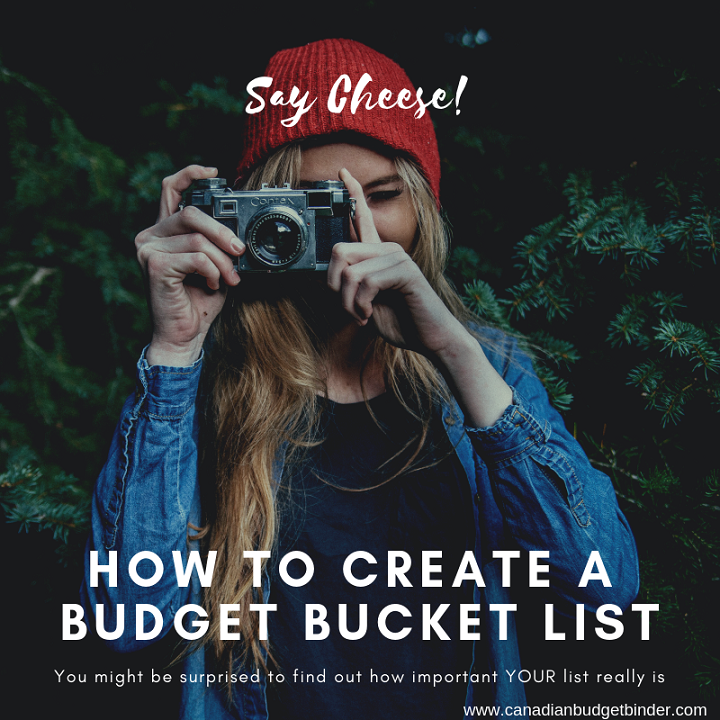 How To Create A Successful Budget Bucket List