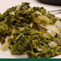 tasty classic italian rapini broccoli rabe recipe