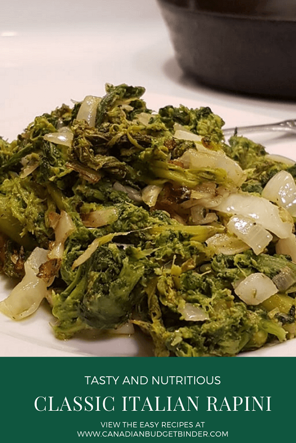 Classic Italian Rapini (Broccoli Rabe) Recipe (Keto, Low-Carb)