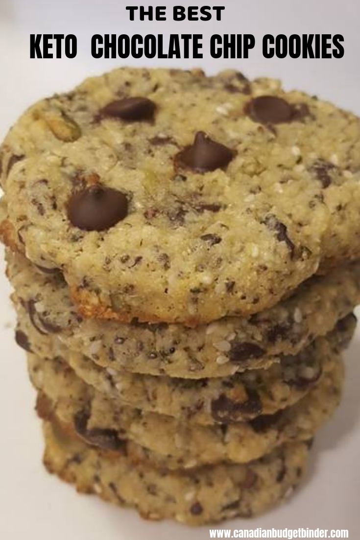 The BEST KETO CHOCOLATE CHIP COOKIES-4