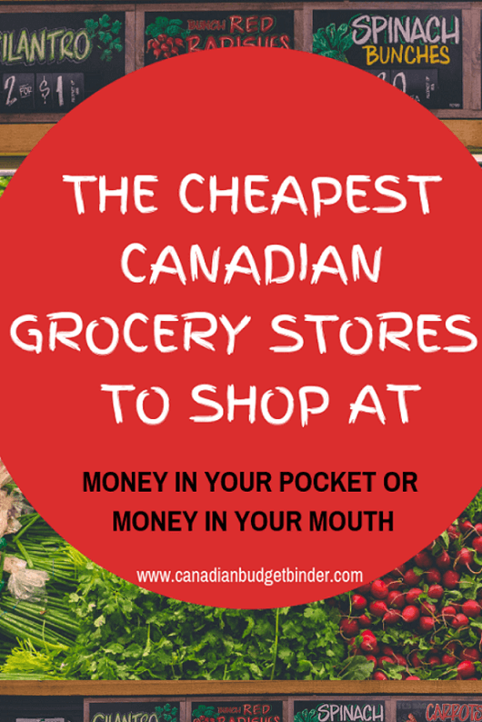 Canada Cheap Grocery Stores