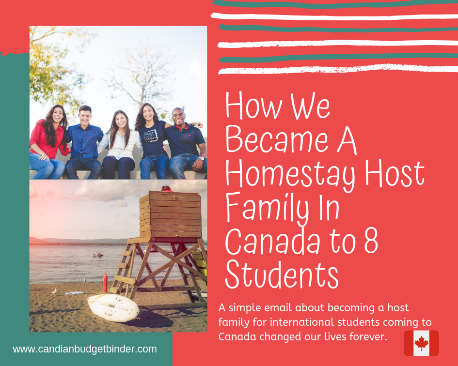How We Became A Homestay Host Family In Canada to 8 Students