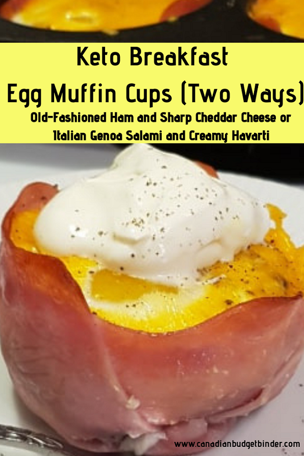 Keto Breakfast Egg Muffin Cups Two Ways (Meal Prep)