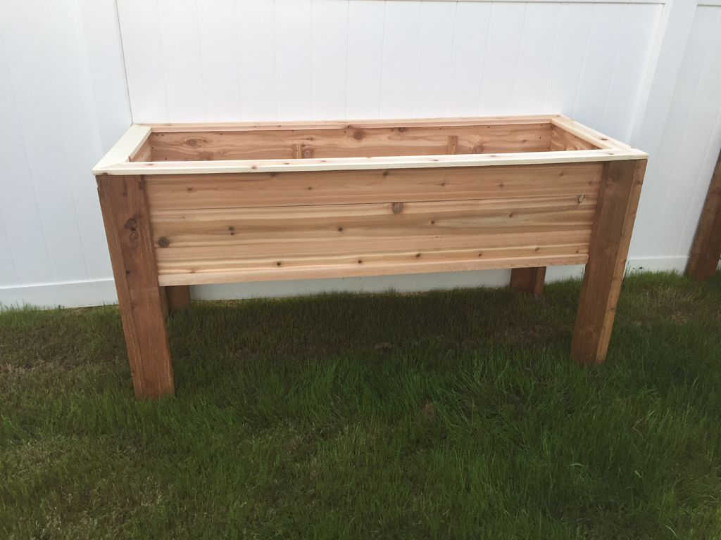 elevated raised planter box building instructions