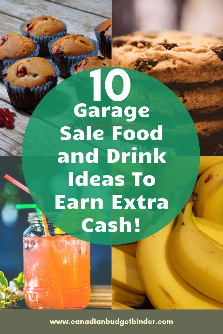 10 Garage Sale Food and Drink Ideas To Earn Extra Cash : The Saturday Weekend Review #279