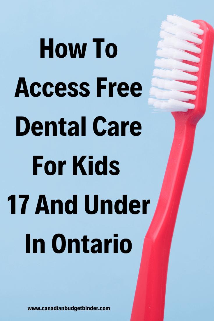 Healthy Smiles Ontario Program