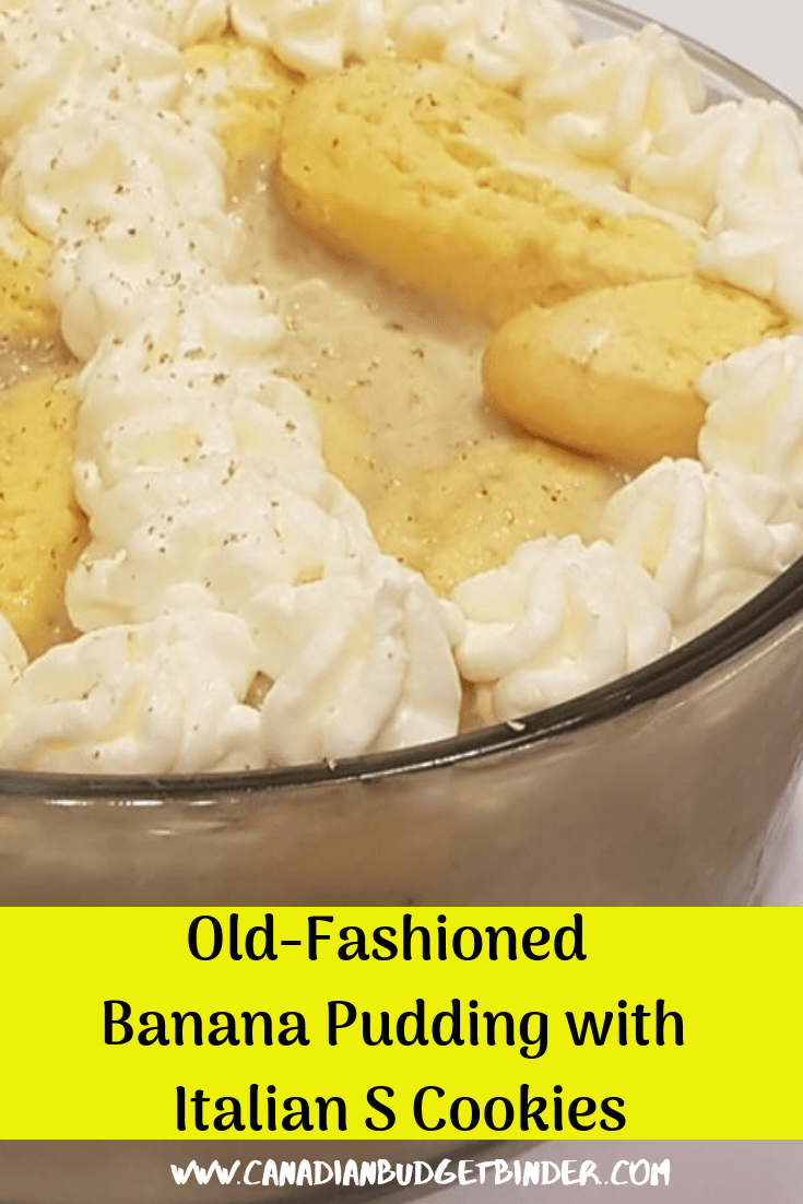 no bake banana pudding